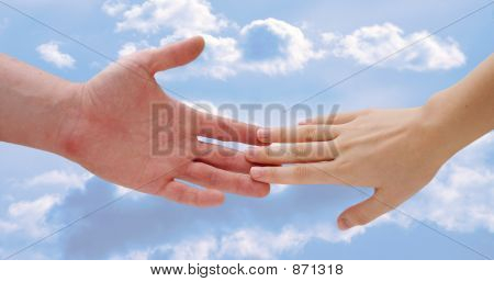Touching Hands 3