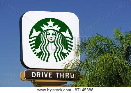 Starbucks Coffee Shop Sign