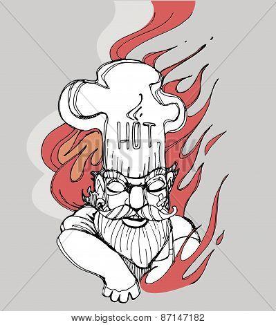 Hot chef