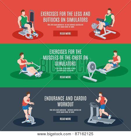 Exercise Machines Set
