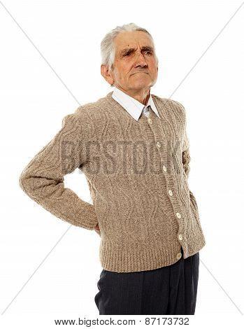 Back Ache Of Older Man