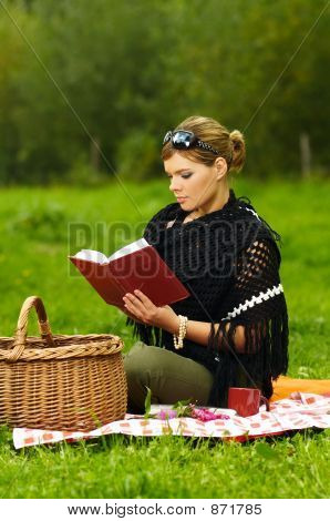 Woman on Picnic
