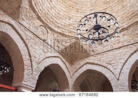 Interior Of Yivli Minare Mosque (