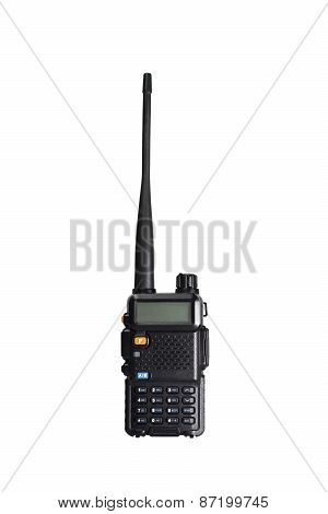 2-way Portable Radio Isolated With Cliping Path