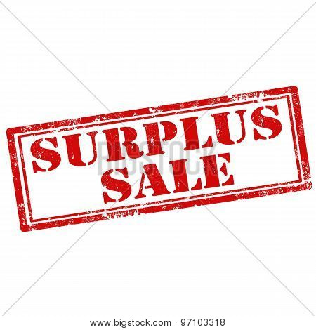 Surplus Sale