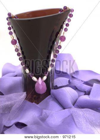 Amethyst & Pearls, Shades Of Purple