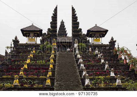 Besakih Mother Temple In Bali