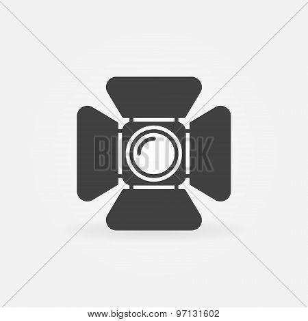 Spotlight logo or icon