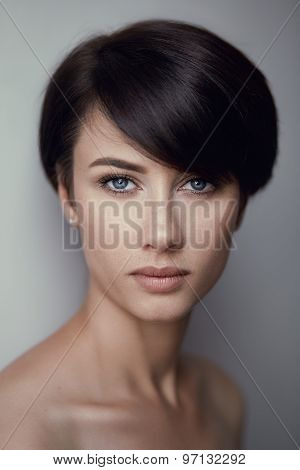 Fashion Brunette Portrait