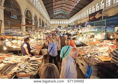 Fish Market Athens