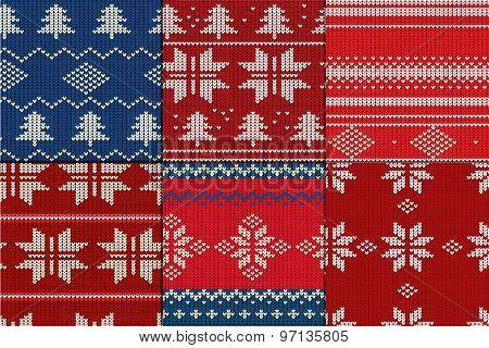 Knitting Pattern set