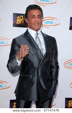 LOS ANGELES - JUN 6:  Sylvester Stallone at the Lupus LA Orange Ball  at the Fox Studios on June 6, 2015 in Century City, CA