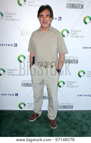 LOS ANGELES - JUN 8:  Joe Mantegna at the SAG Foundations 30TH Anniversary LA Golf Classi at the Lakeside Golf Club on June 8, 2015 in Toluca Lake, CA