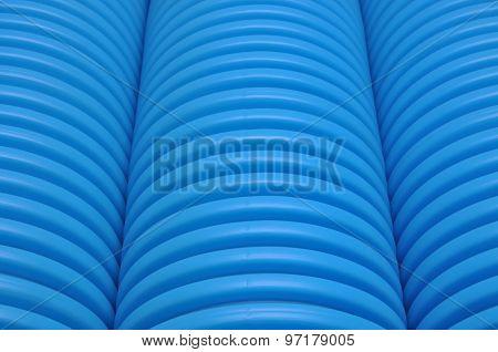 Blue tubes