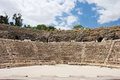 Ruins of the ancient Roman city Bet Shean Israel poster