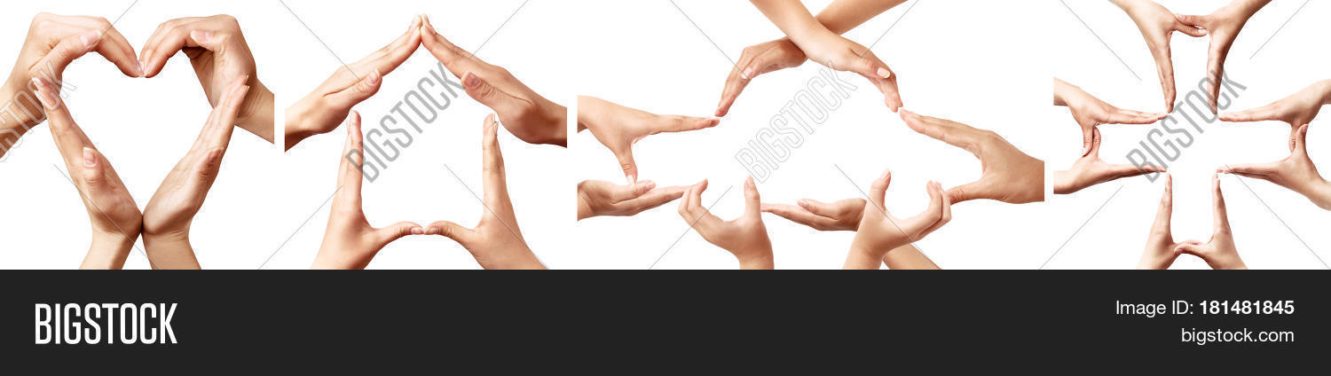 Symbols Made By Hands Image Photo Free Trial Bigstock