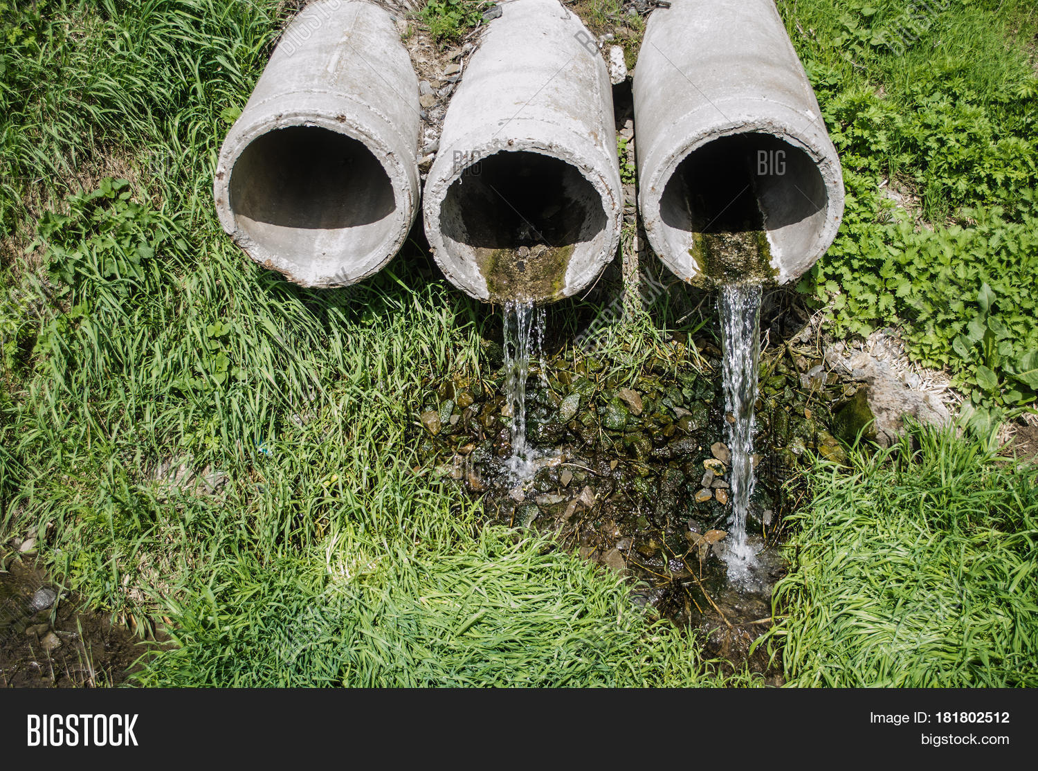 Waste Pipe Drainage Image & Photo (Free Trial) | Bigstock