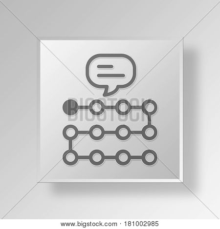 Gray Square Cognitive walkthrough Symbol icon Concept
