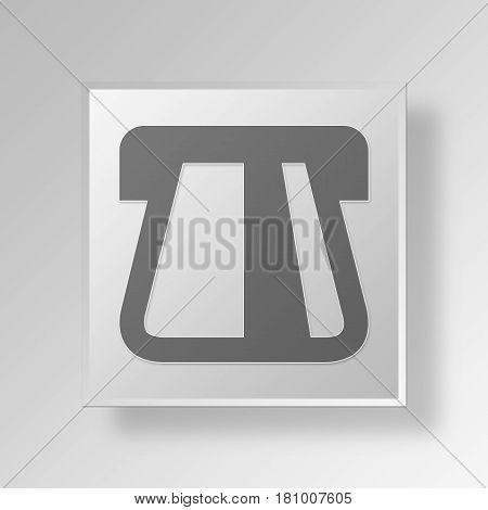 Gray Square Insert Credit Card Symbol icon Concept
