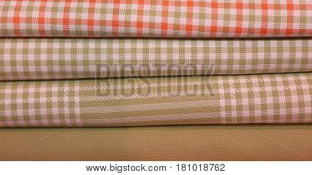Cotton Fabrics On Sale In Italian Haberdashery