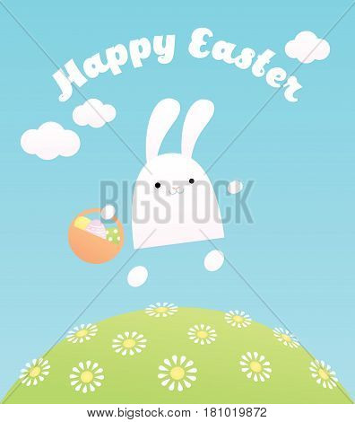 Vector illustration with greeting text