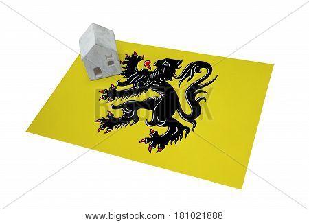 Small House On A Flag - Flanders