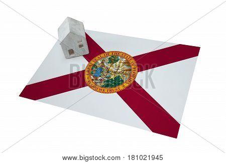 Small House On A Flag - Florida