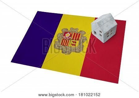 Small House On A Flag - Andorra