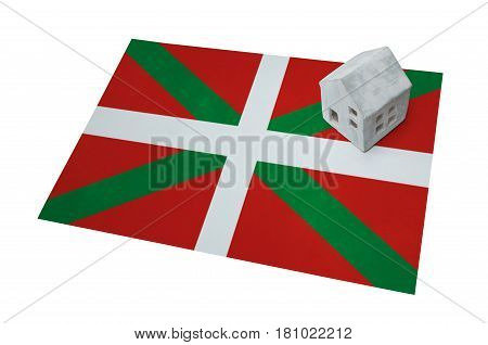 Small House On A Flag - Basque Country