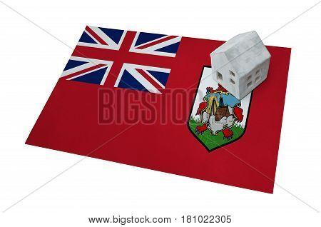 Small House On A Flag - Bermuda