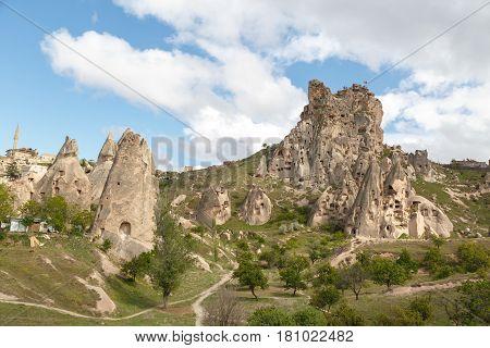 Uchisar Castle View