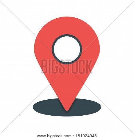 Location, map, placeholder icon vector image. Can also be used for web interface. Suitable for mobile apps, web apps and print media.