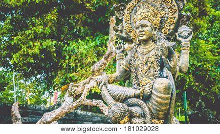 statue of ganesha in Kuta Bali, indonesia.