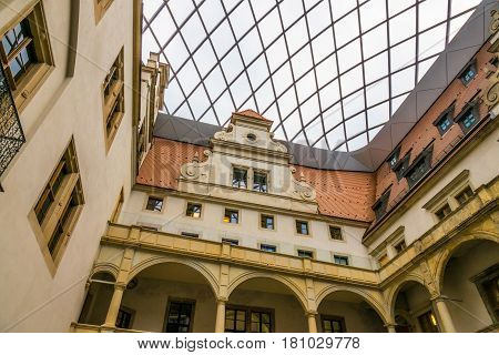 The Old Building Of City Dresden, Germany