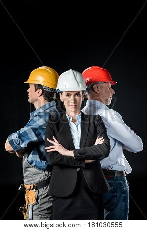 Two Architects And Engineer