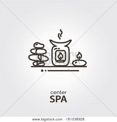 Spa Center - Logo Template