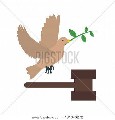 Community, peace, justice icon vector image. Can also be used for community. Suitable for mobile apps, web apps and print media.