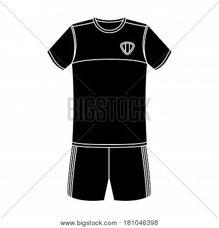 Form of the Belgian football team.The dark Belgian wolf. Belgium single icon in black style vector symbol stock web illustration.