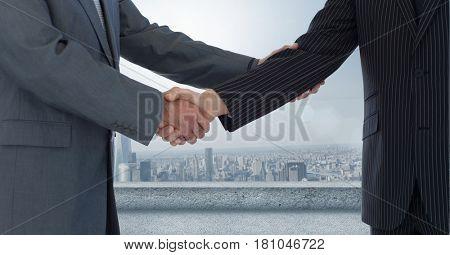 Digital composite of HandShakes_2015\city28