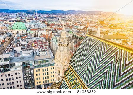 Vienna, Austria From St. Stephen's Cathedral