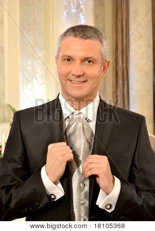 Man At Restaurant