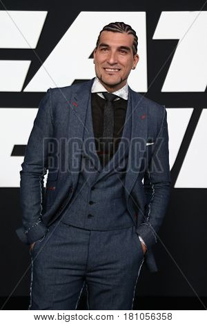 NEW YORK-APR 8: Jose Manuel Pinto attends the premiere of