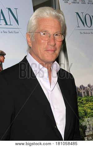 LOS ANGELES - APR 5: Richard Gere at the premiere of Sony Pictures Classics' 'Norman' at Linwood Dunn Theater at the Pickford Center for Motion Study on April 5, 2017 in Los Angeles, CA