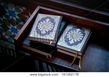 Group Of Books Of Quran