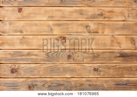 Old Wooden Brown Panel Wall Background Texture.