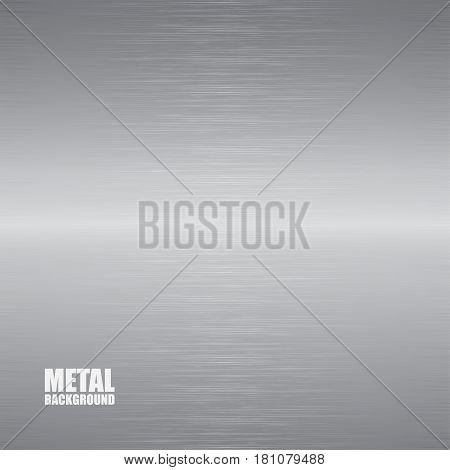 Aluminum brushed texture with horizontal matt reflection