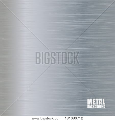Aluminum brushed texture with vertical light and dark reflections
