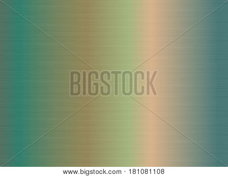 Abstract background with cooper patina brushed texture