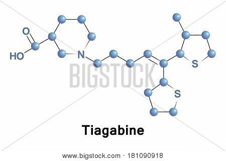 Tiagabine is an anticonvulsant medication used in the treatment of epilepsy. The drug is also used off-label in the treatment of anxiety disorders and panic disorder.