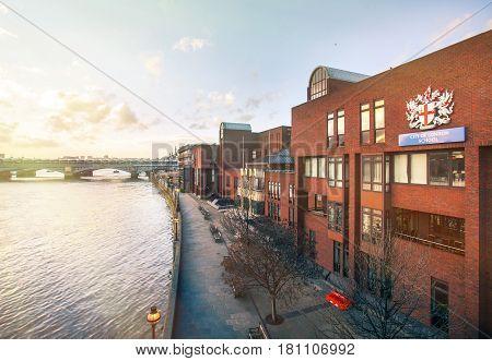 07 January 2014 - London, Uk. City Of London School